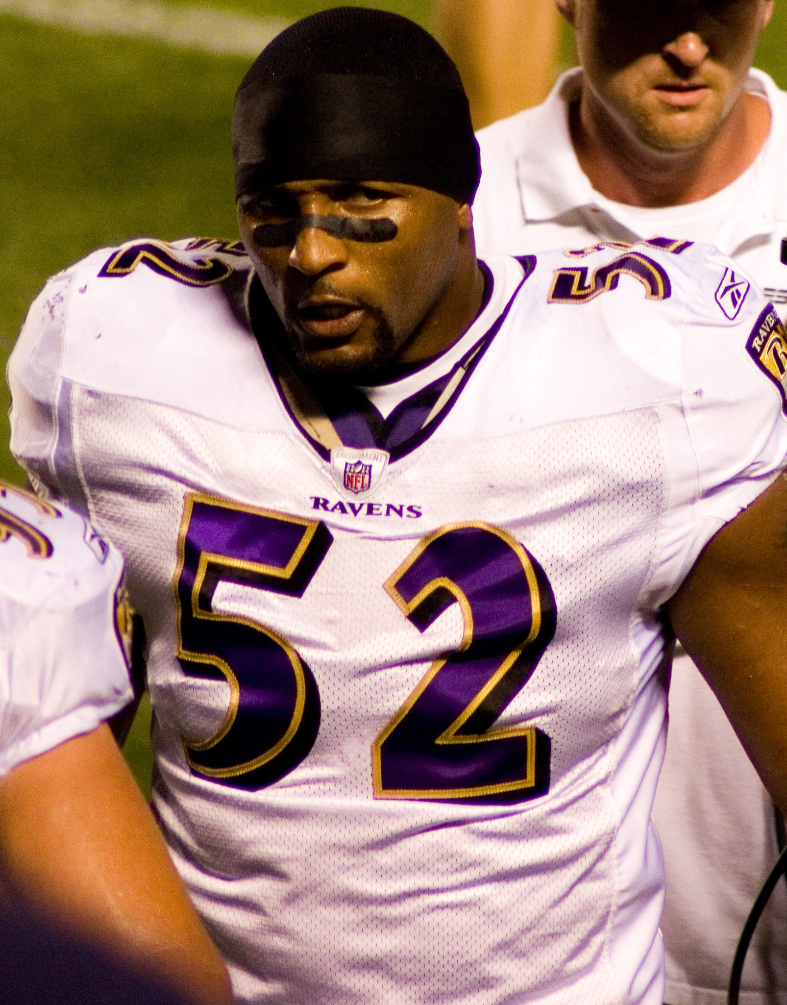 Courtesy of Wikimedia CommonsRay Lewis has been a polarizing figure for most of his career. Superbowl XLVII will be his last game before retirement.