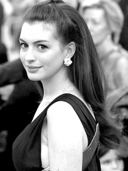 "Courtesy of Wikimedia Commons Anne Hathaway plays Fantine in an award winning performance in ""Les Miserables"". She is the favorite for the Academy Award for Best Supporting Actress."
