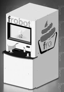 "FroBot, ""The Redbox of Frozen Yogurt,"" is the brainchild of University alumni Jeremy O'Sullivan '09 and Melissa Nelson '09."